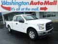 Oxford White 2017 Ford F150 XL SuperCab