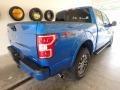 2019 Velocity Blue Ford F150 XLT SuperCrew 4x4  photo #2