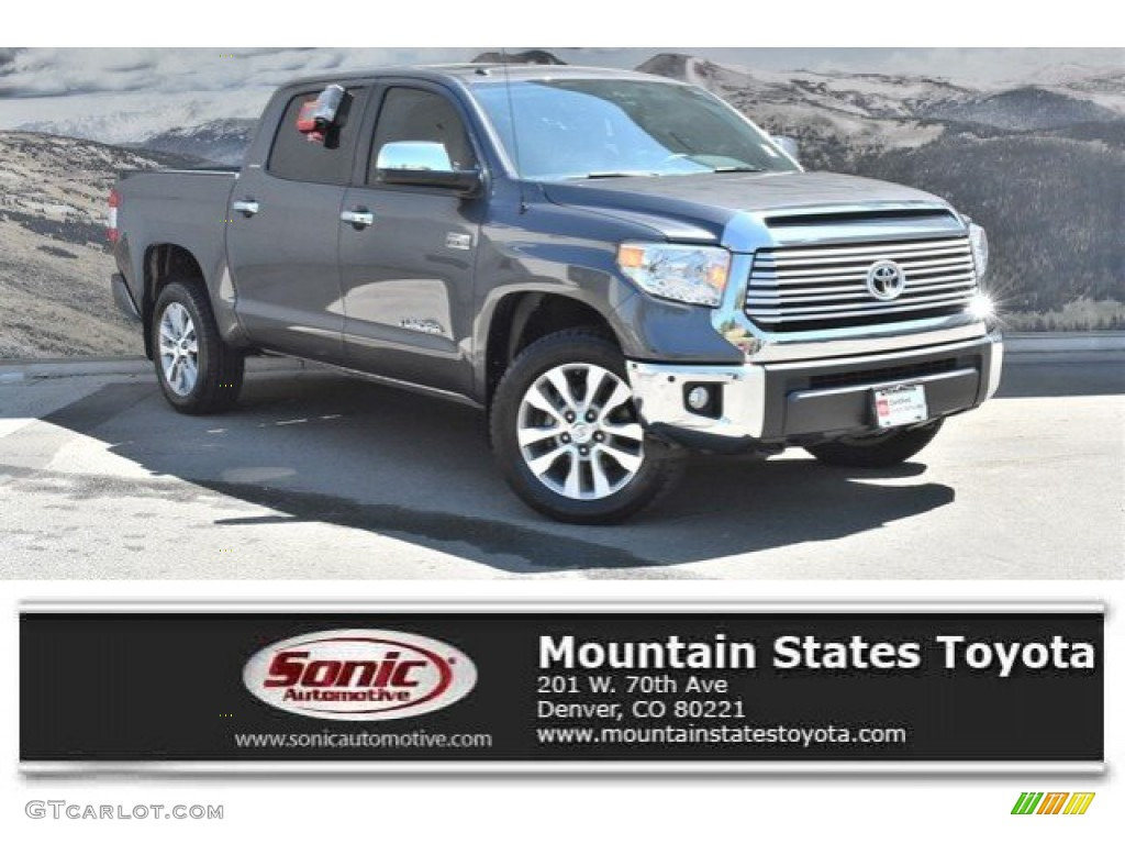 2016 Tundra Limited CrewMax 4x4 - Magnetic Gray Metallic / Black photo #1