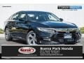Crystal Black Pearl 2019 Honda Accord EX Sedan