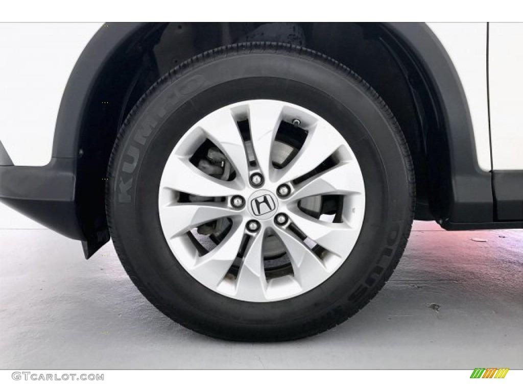 2012 CR-V EX 4WD - White Diamond Pearl / Beige photo #8