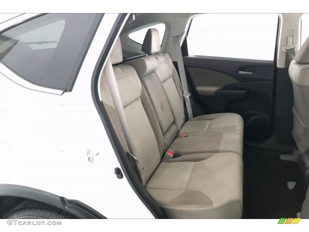 2012 CR-V EX 4WD - White Diamond Pearl / Beige photo #13