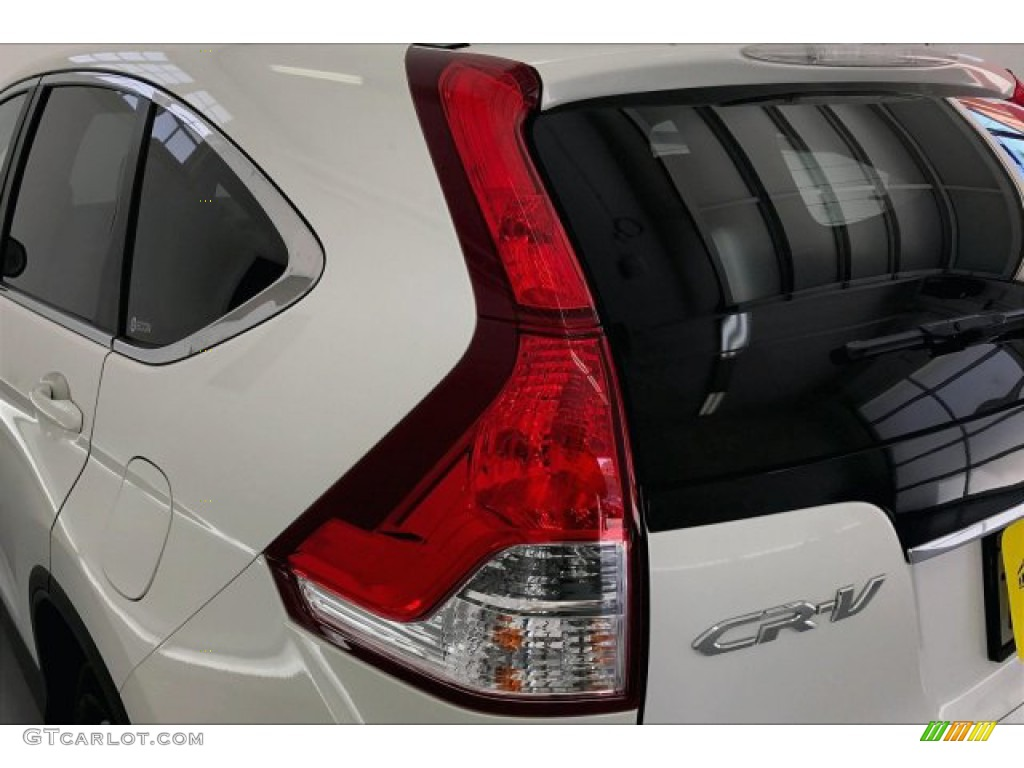 2012 CR-V EX 4WD - White Diamond Pearl / Beige photo #26