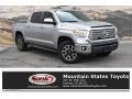 2017 Silver Sky Metallic Toyota Tundra Limited CrewMax 4x4  photo #1