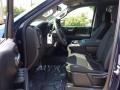 2019 Chevrolet Silverado 1500 Jet Black Interior Front Seat Photo