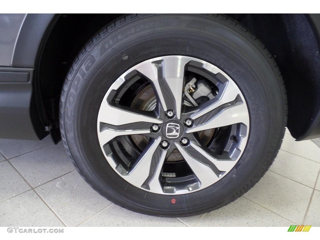 2019 CR-V LX AWD - Modern Steel Metallic / Black photo #20