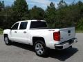 2018 Summit White Chevrolet Silverado 1500 Custom Crew Cab 4x4  photo #8