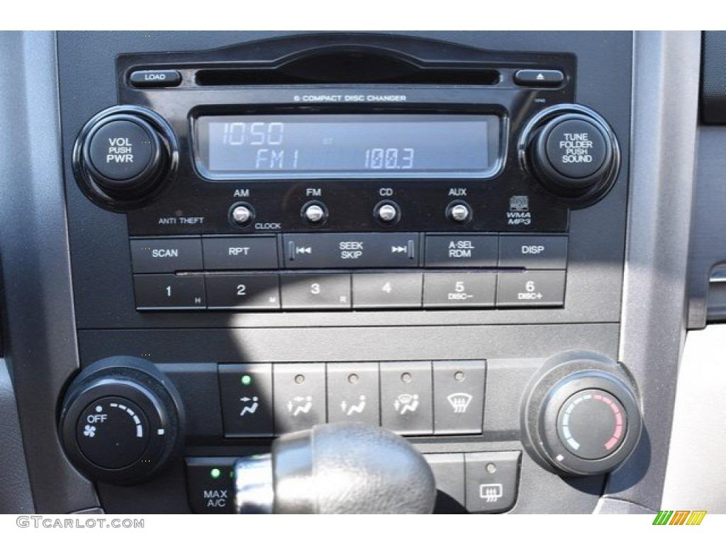 2009 CR-V EX 4WD - Taffeta White / Gray photo #11