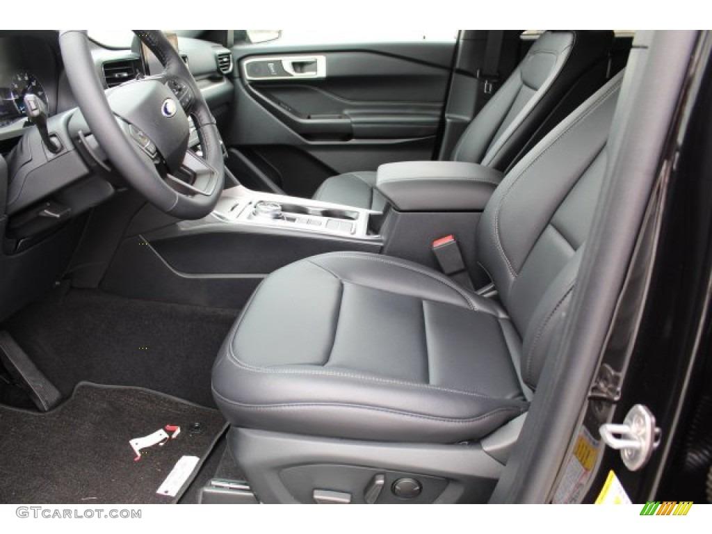 Ebony Interior 2020 Ford Explorer Xlt Photo 134834249 Gtcarlot Com