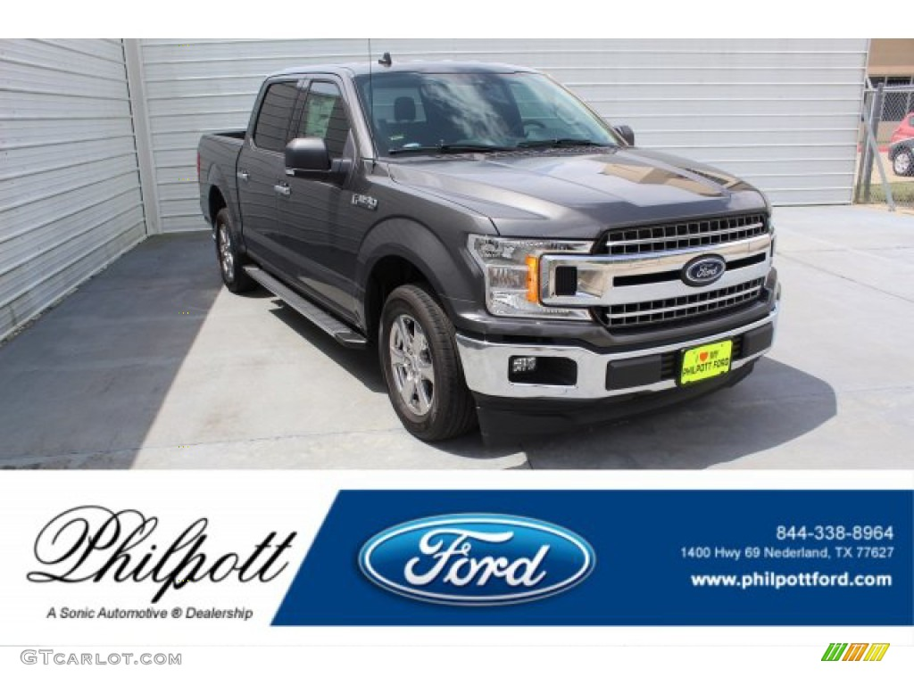 2019 F150 XLT SuperCrew - Magnetic / Earth Gray photo #1