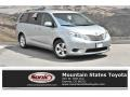 2017 Silver Sky Metallic Toyota Sienna LE  photo #1