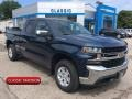 Deep Ocean Blue Metallic 2019 Chevrolet Silverado 1500 LT Double Cab 4WD