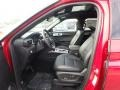 Ebony Front Seat Photo for 2020 Ford Explorer #134883143