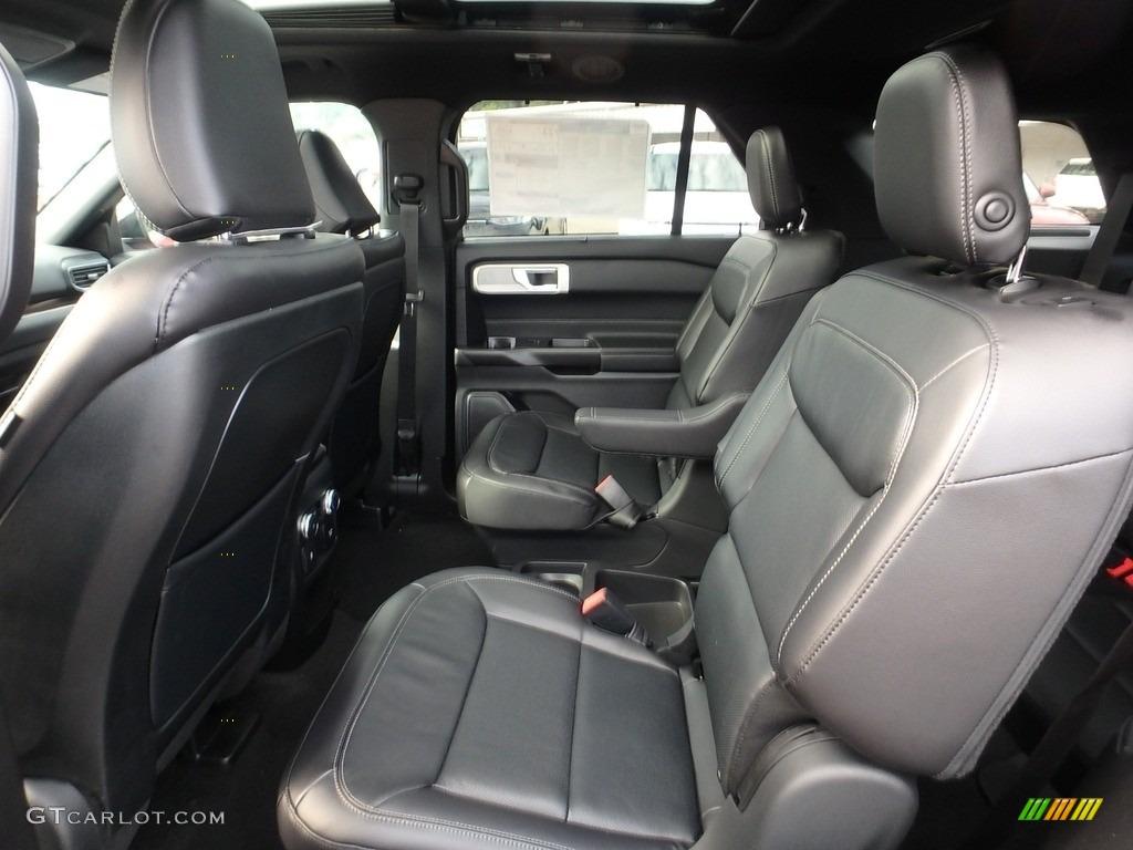 Ebony Interior 2020 Ford Explorer Limited 4wd Photo 134883167 Gtcarlot Com