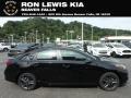 Aurora Black 2020 Kia Forte GT-Line
