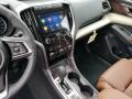 2020 Subaru Ascent Java Brown Interior Controls Photo