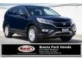 2016 Crystal Black Pearl Honda CR-V EX  photo #1
