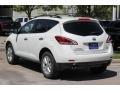 2014 Pearl White Nissan Murano SV  photo #5