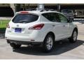 2014 Pearl White Nissan Murano SV  photo #7