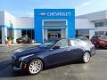 Dark Adriatic Blue Metallic 2015 Cadillac CTS 2.0T Luxury AWD Sedan