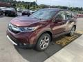 2019 Basque Red Pearl II Honda CR-V EX-L  photo #4