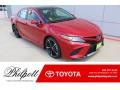 Supersonic Red 2019 Toyota Camry XSE
