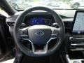 Ebony Steering Wheel Photo for 2020 Ford Explorer #134929846