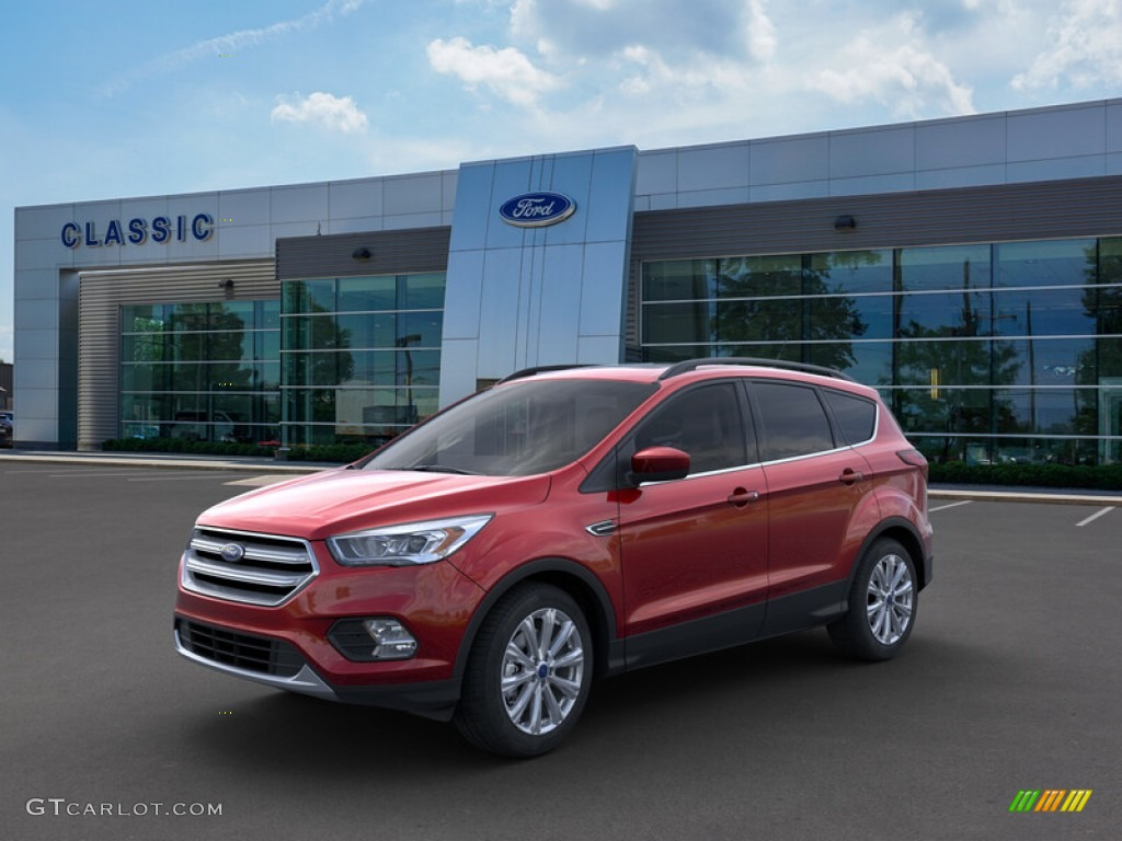 2019 Escape SEL - Ruby Red / Chromite Gray/Charcoal Black photo #1