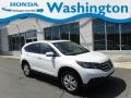 2014 White Diamond Pearl Honda CR-V EX AWD  photo #1