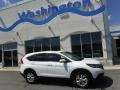 2014 White Diamond Pearl Honda CR-V EX AWD  photo #2