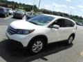 2014 White Diamond Pearl Honda CR-V EX AWD  photo #6