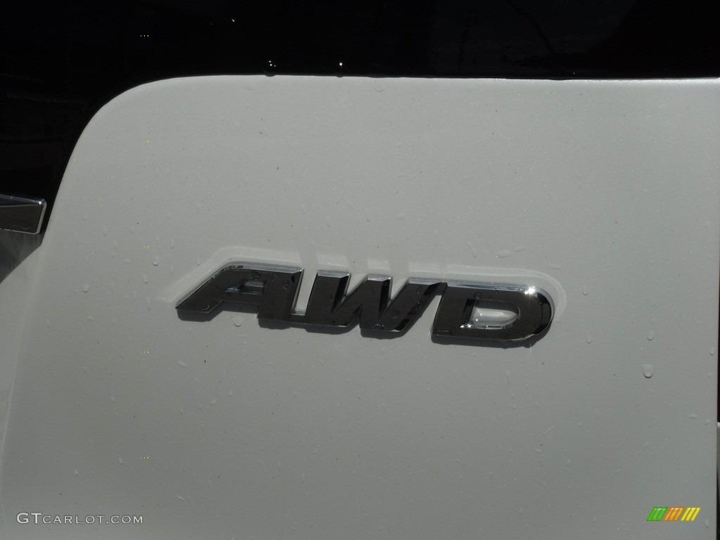 2014 CR-V EX AWD - White Diamond Pearl / Beige photo #10