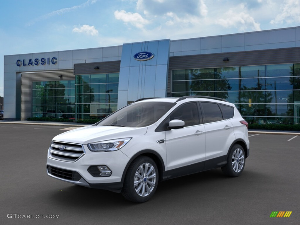 2019 Escape SEL - White Platinum / Chromite Gray/Charcoal Black photo #1