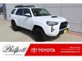Super White 2019 Toyota 4Runner TRD Pro 4x4