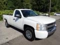 2009 Summit White Chevrolet Silverado 1500 Regular Cab 4x4  photo #5