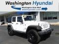 Bright White 2015 Jeep Wrangler Unlimited Sport 4x4