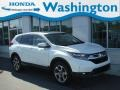 2017 White Diamond Pearl Honda CR-V EX AWD #135032610
