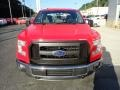 2016 Race Red Ford F150 XL SuperCab 4x4  photo #7