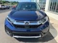 2019 Obsidian Blue Pearl Honda CR-V EX-L  photo #3