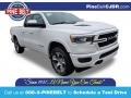 Bright White 2020 Ram 1500 Laramie Quad Cab 4x4