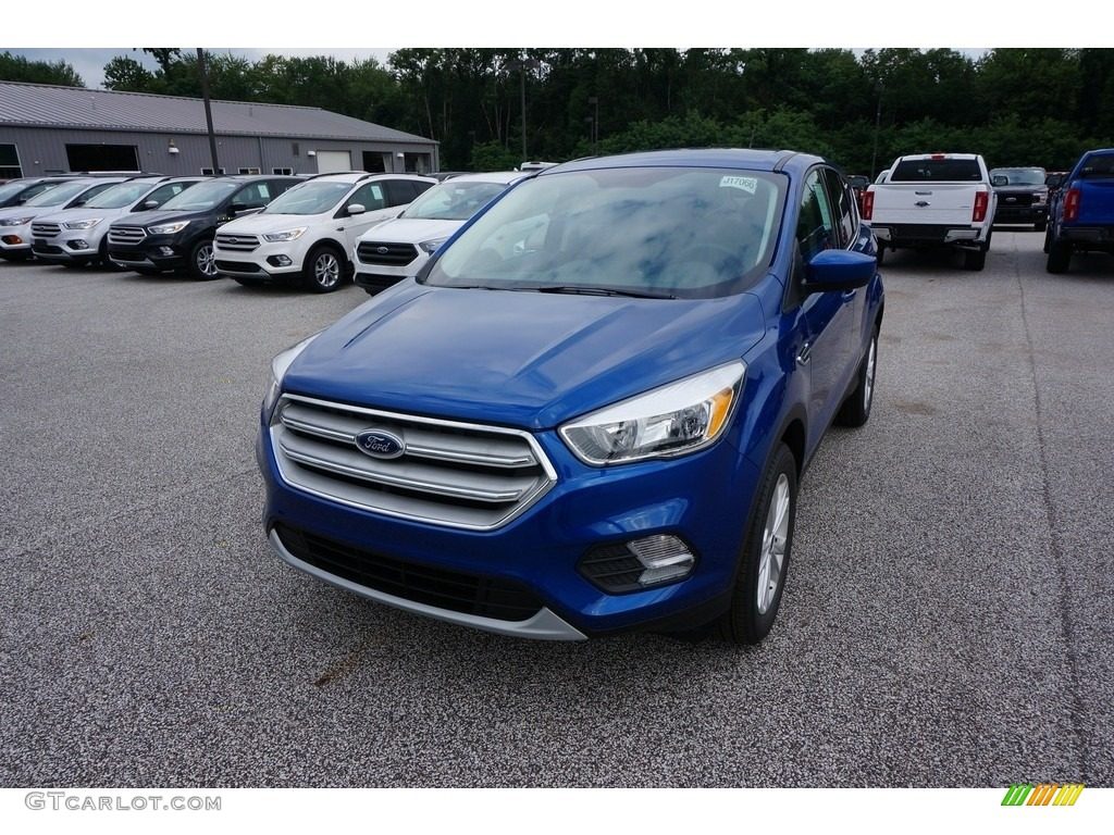 2019 Escape SE 4WD - Lightning Blue / Chromite Gray/Charcoal Black photo #1