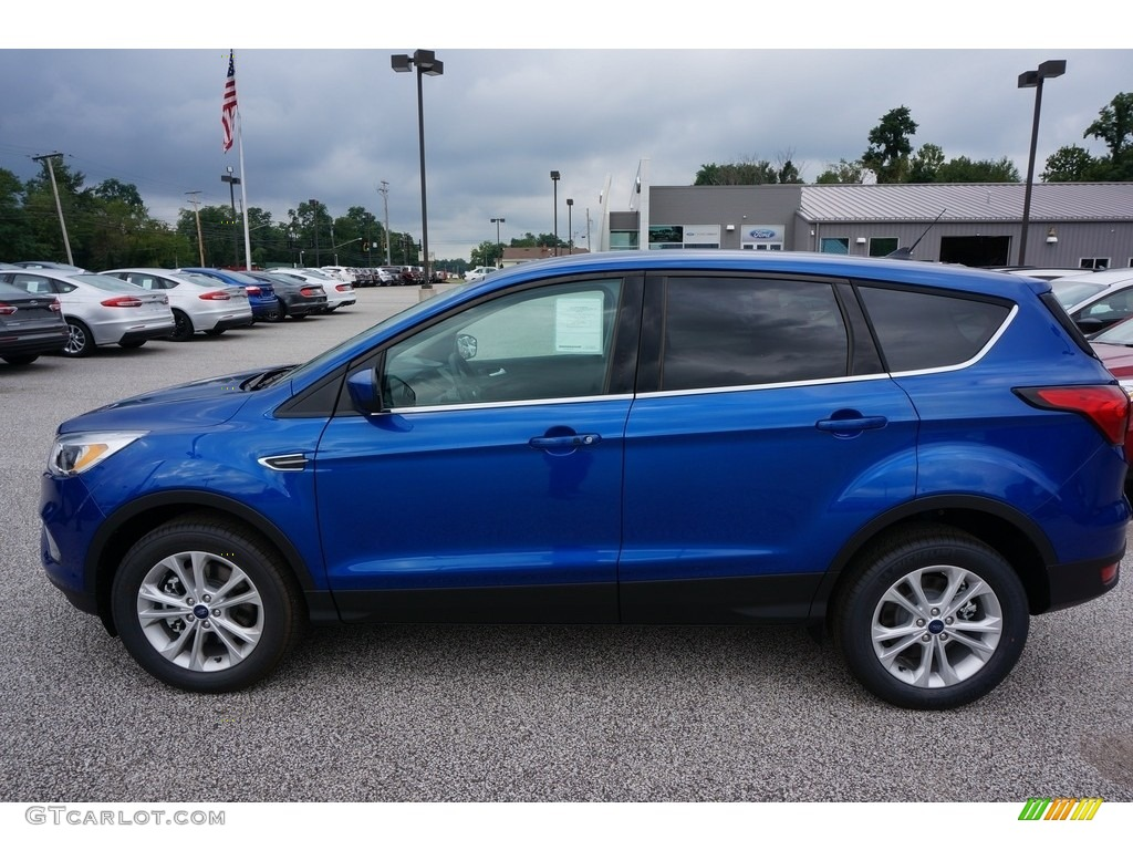 2019 Escape SE 4WD - Lightning Blue / Chromite Gray/Charcoal Black photo #2