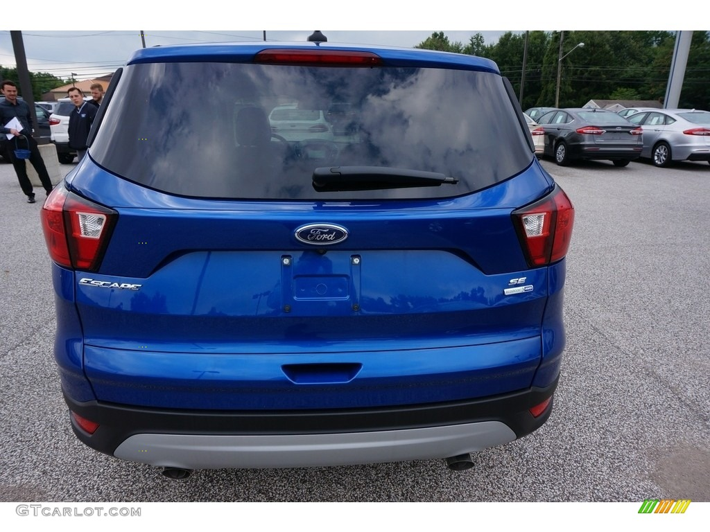 2019 Escape SE 4WD - Lightning Blue / Chromite Gray/Charcoal Black photo #3