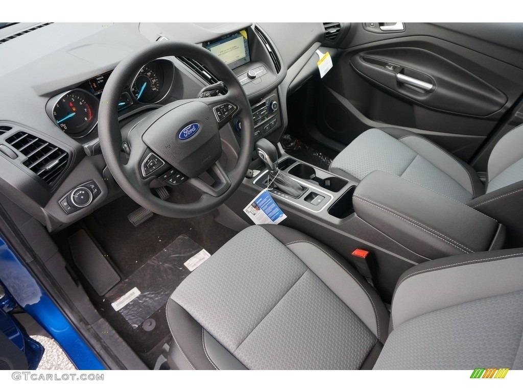 2019 Escape SE 4WD - Lightning Blue / Chromite Gray/Charcoal Black photo #4