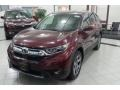 2019 Basque Red Pearl II Honda CR-V EX-L #135088410