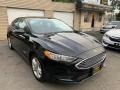2018 Shadow Black Ford Fusion Hybrid SE  photo #3