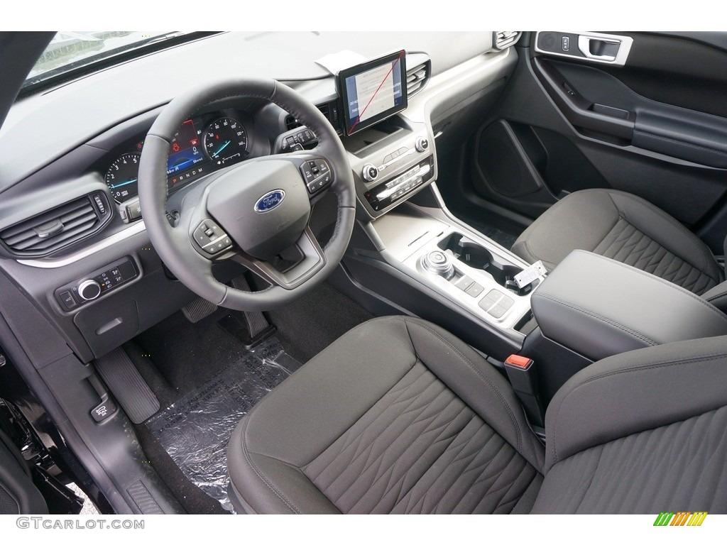 Ebony Interior 2020 Ford Explorer Xlt Photo 135102260 Gtcarlot Com