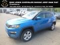 Laser Blue Pearl 2019 Jeep Compass Latitude 4x4