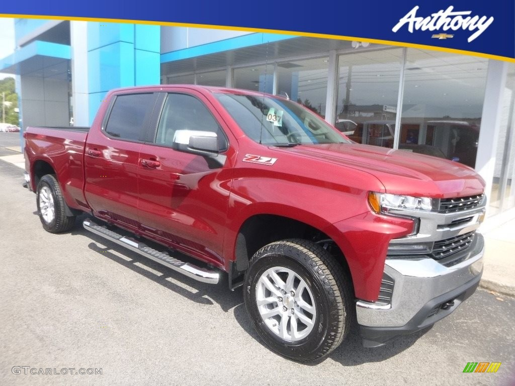 2020 Silverado 1500 LT Z71 Crew Cab 4x4 - Cajun Red Tintcoat / Jet Black photo #1