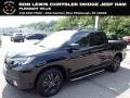 Crystal Black Pearl 2019 Honda Ridgeline Black Edition AWD